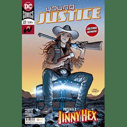 Young Justice #22 (Último número)