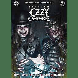 NOCHES OSCURAS: DEATH METAL #7 EDICIÓN OZZY OSBOURNE