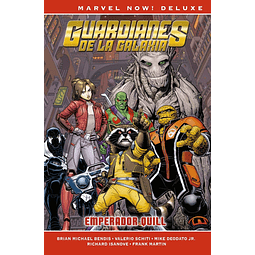 Marvel Now! Deluxe. Guardianes de la Galaxia de Brian M. Bendis #4: Emperador Quill