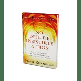 50% Dcto - No Deje De Insistirle A Dios