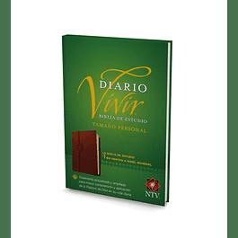 40% Dcto - Biblia de Estudio NTV del diario vivir - tamaño personal (Marrón)