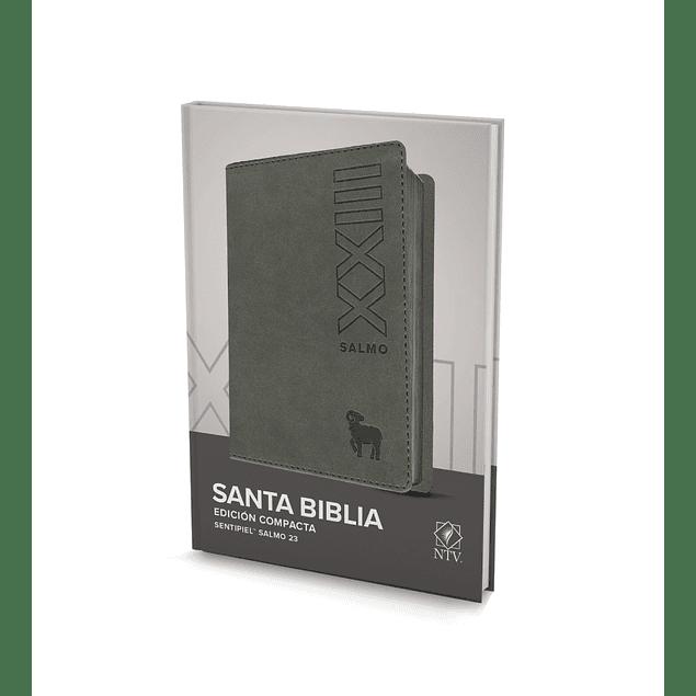 25% Dcto - Biblia Ntv Edición Compacta Gris - Salmo 23
