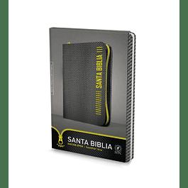20% Dcto - Biblia NTV, Edición zíper (Gris)