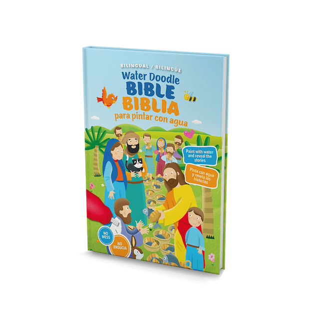 Biblia para pintar Bilingue