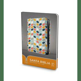 40% Dcto - Biblia NTV, Edición zíper - Hojas de colores