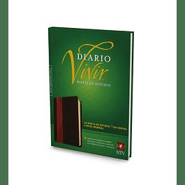Biblia de Estudio NTV con Indice + Libreta de apuntes cuero