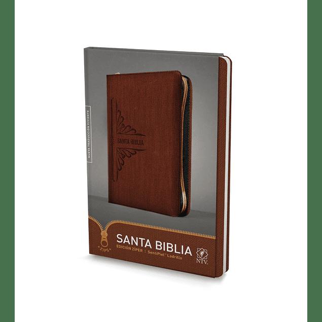 25% Dcto - Biblia NTV, Edición zíper (Terracota)