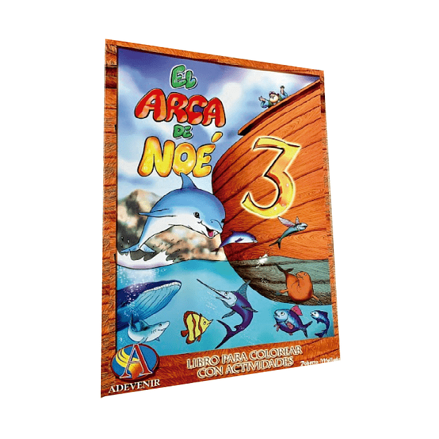 Libro de actividades - El Arca de Noé 3