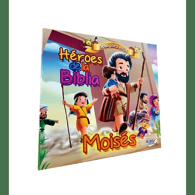 Héroes de la Biblia - Moisés