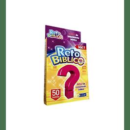 Juego de cartas Reto Bíblico (Vol.1)