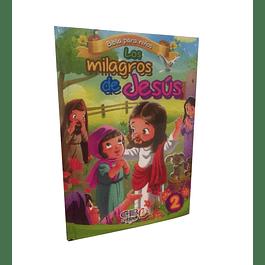 35% Dcto - Libro Rompecabezas - Los Milagros de Jesús 2