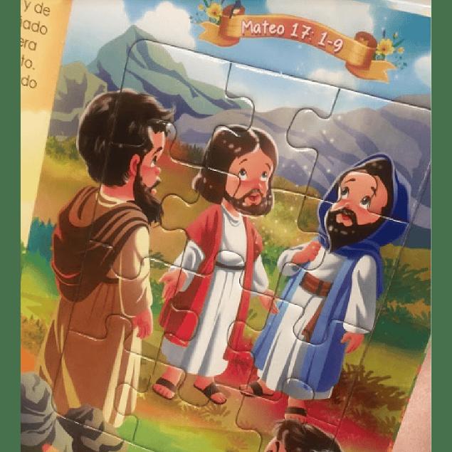 Libro Rompecabezas - Los Milagros de Jesús 3
