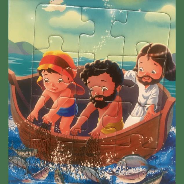 Libro Rompecabezas - Los Milagros de Jesús 1