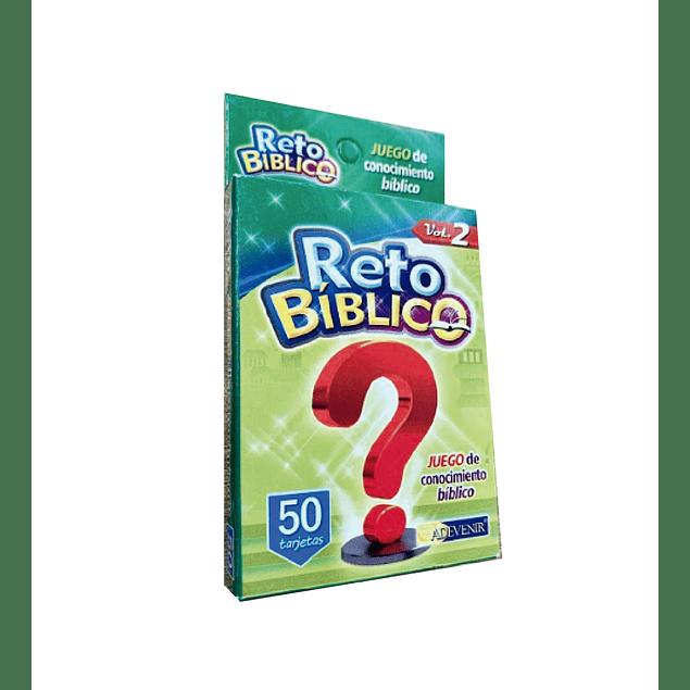 Juego de cartas Reto Bíblico (Vol.2)