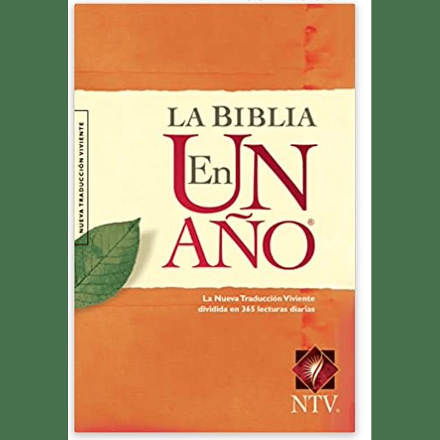 La Biblia en un año NTV (Tapa rústica)