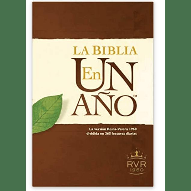 La Biblia en un año RVR60 (Tapa rústica)