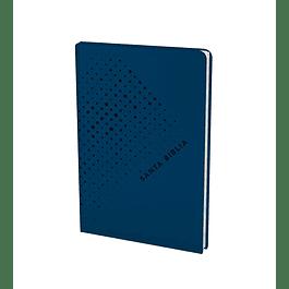 Santa Biblia NTV, Edición ágape (SentiPiel, Azul)