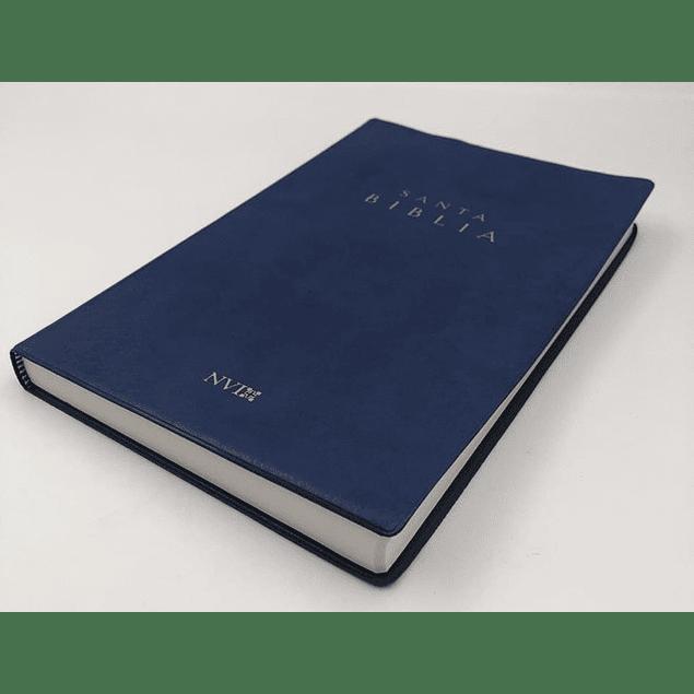 Biblia NVI Ultrafina Vinil Azul
