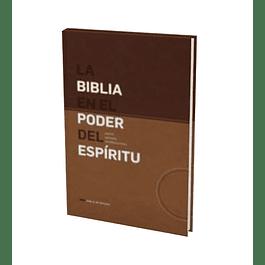 20% Dcto - Biblia NVI Edición En el Poder del Espíritu - Café/Marrón