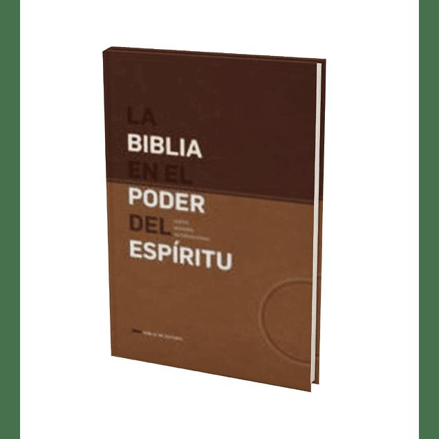 Biblia NVI Edición En el Poder del Espíritu - Café/Marrón