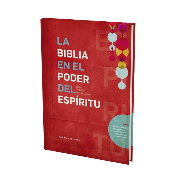 Biblia de Estudio NVI Edición En el Poder del Espíritu (Tapa Dura)