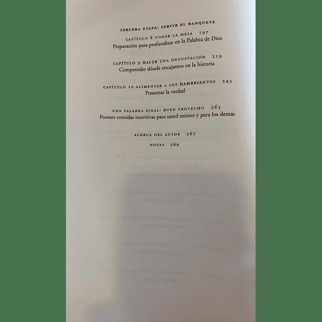 Aliméntese de las Escrituras - Charles Swindoll