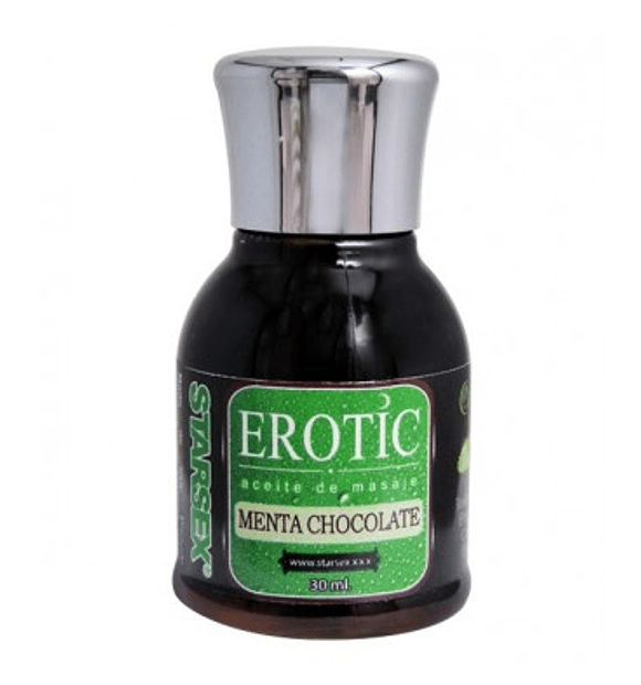 Aceite de Masaje Erotic Menta Chocolate 30ml