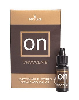 Aceite Excitante de Chocolate On Mujer