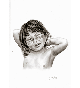 Original Work: Indigenous girl