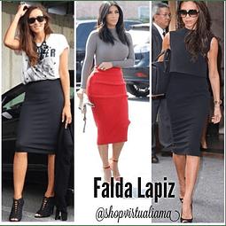 FALDA LAPIZ- Ref. FALL