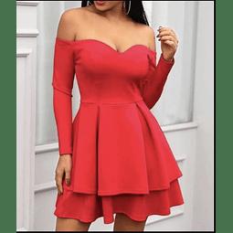 Vestido Corazón Doble Arandela