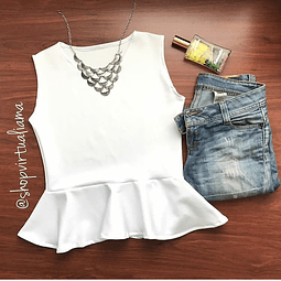 Blusa peplum - Ref. BLUEP