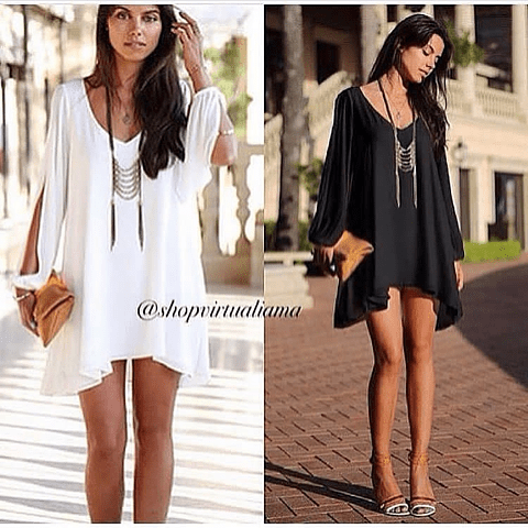 Blusón mini vestido - Ref. BLUCS