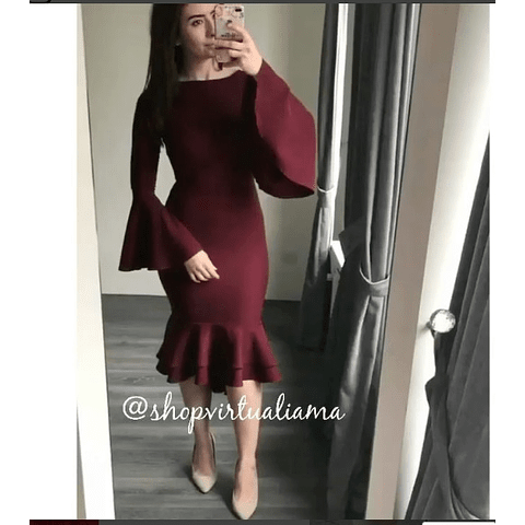 Vestido Arandela- Ref. VESARML
