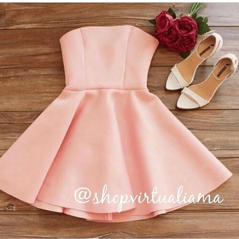 Vestido Straple Corto - Ref. VESSC