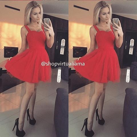 Vestido Tul Tira - Ref. VESTULT