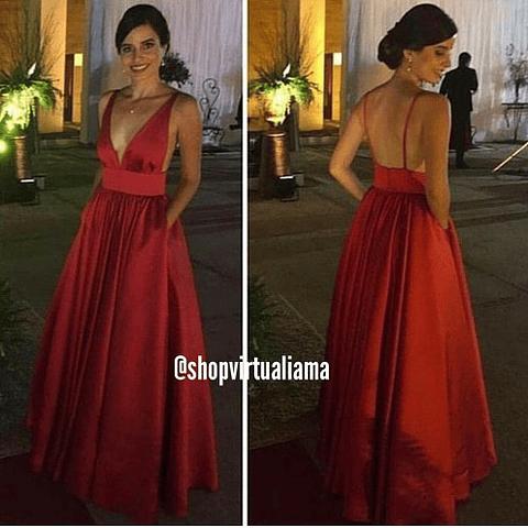Vestido Maxi Gala - Ref. VESMAXG
