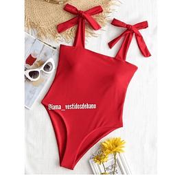 Vestido Baño Amarre - Ref. VBAMRB