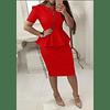 Vestido Cremallera Arandela - Ref. VESCREARA