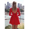 Vestido Moño Blonda - REF. VESMÑBL
