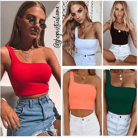 Croptop Basic Slim