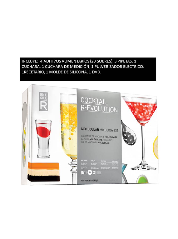 KIT R-EVOLUTION PARA COCTELERIA