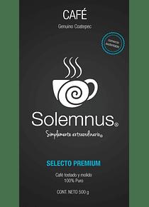CAFÉ DESCAFEINADO SOLEMNUS BOLSA 1 KG