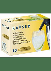 K1101 CAPSULAS DE CO2 PARA SODA CAJA CON 10 CAPSULAS