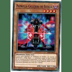 Patrulla Callejera De Estigia carta yugi SDSA-SP015