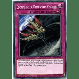 Escape De La Dimension Oscura carta yugi SDSA-SP036
