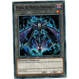 Ficha De Martir Fanstaml carta yugi SDSA-SP047