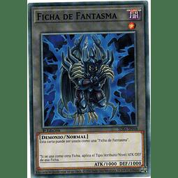 Ficha De Fantasma carta yugi SDSA-SP048
