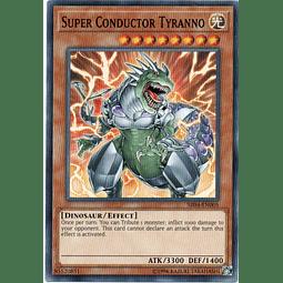 Super Conductor Tyranno Carta yugioh SR04-EN005