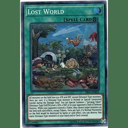 Lost World Carta yugioh SR04-EN021